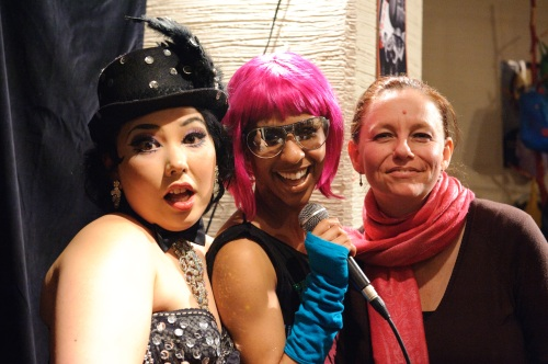Cherry Typhoon, Lady Elle, Martine Cotton