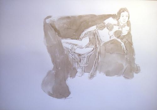 Miss Qamarah in ink