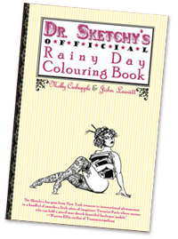 The Sketchy Rainy Day Coloring Book